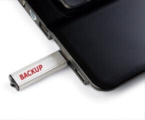 Backup Your Data to avoid disaster