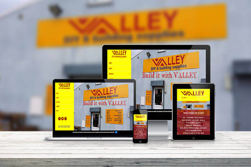 Website Valley DIY Concept