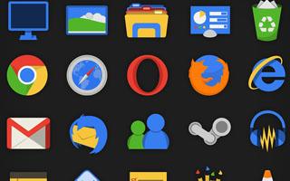 Google Style Icons
