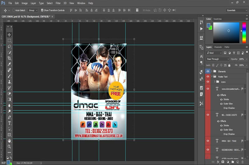 DMAC A5 Leaflet Concepts