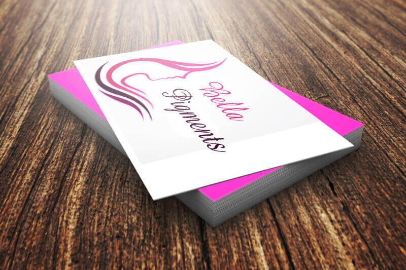 Bella Pigments logo concept