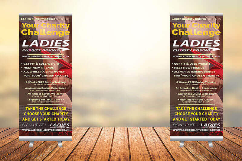 ladies charity boxing concept 2