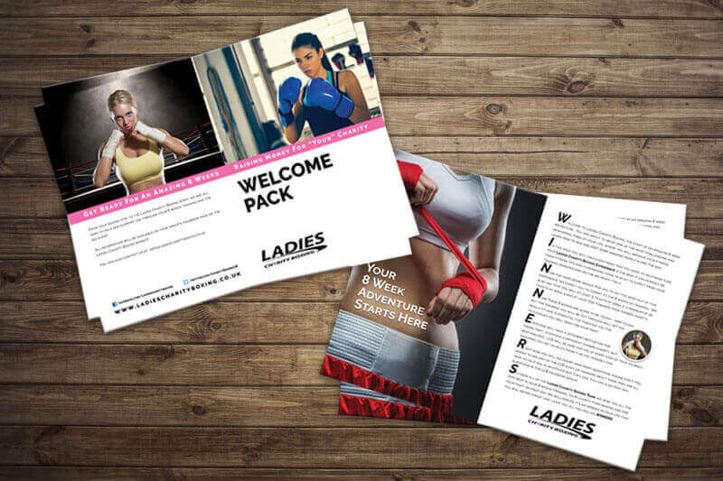 Ladies Charity Boxing Folder