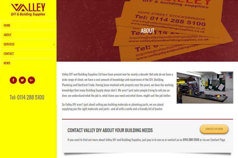Website Valley DIY Concept